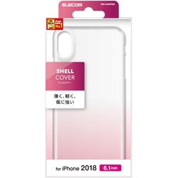 iPhone XR用 6.1 シェルカバー PM-A18CPVCR