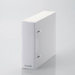 CD/DVD/マルチメディア用不織布ケース/2穴リング式トレイ専用ファイル 10-24枚収納