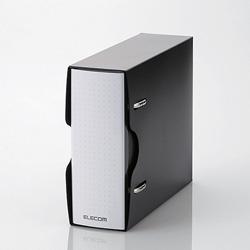 CCD-BC02BK(DVD・CD不織布ケース専用ファイル/ブラック)