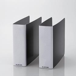 CCD-B01WBK DVD・CD不織布ケース専用ファイル(12枚収納×2冊入り/ブラック)