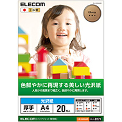 EJK-GANA420(EJK-GANシリーズ/光沢写真用紙/光沢紙厚手/A4/20枚)