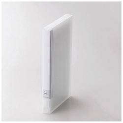 [24枚収納] Blu-ray/DVD/CD用ディスクファイル (クリア) CCD-FB24CR