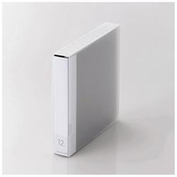 [12枚収納] DVD/CD用ディスクファイル (ブラック) CCD-FS12BK