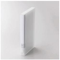 [24枚収納] DVD/CD用ディスクファイル (クリア) CCD-FS24CR