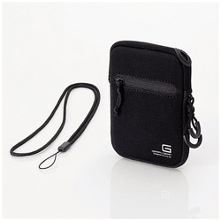 デジタルカメラケース GRAPH GEAR Sサイズ ブラック DGB-063BK