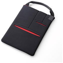 8.5〜10.5インチタブレット対応 マルチポケット付きインナーバッグ CELL ブラック TB-10CELLBK
