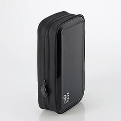 CCD-H96BK CD/DVDファスナーケース(96枚収納/ブラック)