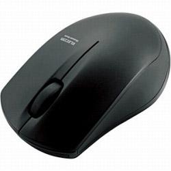 ワイヤレスマウス[IR LED・Bluetooth 3.0] 省電力タイプ (3ボタン・ブラック) M-BT12BRBK [Bluetoothマウス]