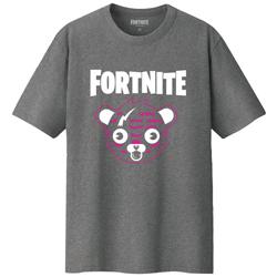 FORTNITEピンクマTシャツ チャコール