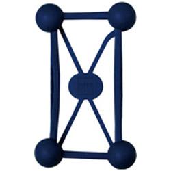 ワールドクリエイト 〔フィンガーホルダー〕 クッションバンド ブルー 60012