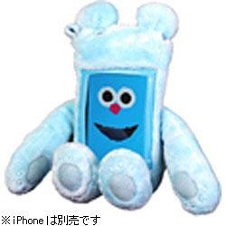 iPhone用 アプリズムシリーズ 「ジャケぐるみくーた」(ブルー) JAKEGURUBL