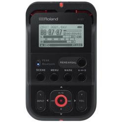 ハイレゾ・オーディオ・レコーダー R-07-BK ブラック [Bluetooth対応 /ハイレゾ対応]