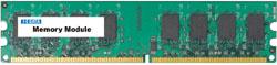 PC2-5300対応 増設DDR2メモリー(1GB) DX667-1GA