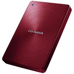 HDPX-UTA1.0R ポータブルHDD [USB3.0・1TB] HDPX-UTAシリーズ「カクうす」 (レッド) HDPXUTA1.0R