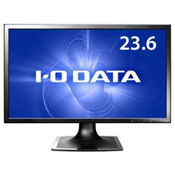 LEDバックライト搭載液晶モニター LCD-MF244XB ブラック [23.6型 /ワイド /フルHD(1920×1080)]