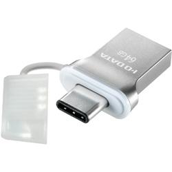 アイ・オー・データ機器(I・O DATA) USB 3.1 Gen1 Type-C⇔Type-A 両コネクター搭載USBメモリー 64GB U3C-HP64G