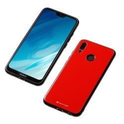 Huawei P20 lite用 ハイブリッドケースUNIO レッド BKSP20LUNCRD