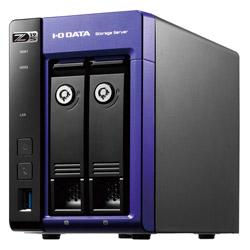 Windows Server IoT 2019 for Storage Standard/Celeron搭載2ドライブNAS 2TB HDL2-Z19SCA-2