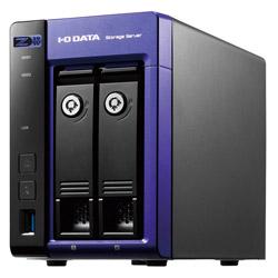 Windows Server IoT 2019 for Storage Workgroup/Celeron搭載2ドライブNAS 16TB HDL2-Z19WCA-16