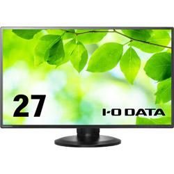 IO DATA(アイオーデータ) PCモニター  ブラック LCD-MF273EDB-F-A [27型 /ワイド /フルHD(1920×1080)]