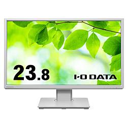 IO DATA(アイオーデータ) PCモニター  ホワイト LCD-DF241EDW-F [23.8型 /フルHD(1920×1080) /ワイド]