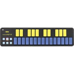 nanoKEY2-BLYL USB-MIDIキーボード