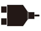 オーディオ分配プラグ(RCA⇒RCA×2) ATL427CM