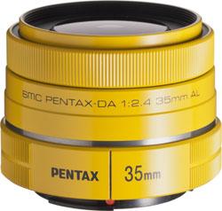 PENTAX DA 35mm F2.4AL(イエロー)(レンズ)