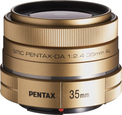 PENTAX DA 35mm F2.4AL(ゴールド)(レンズ)