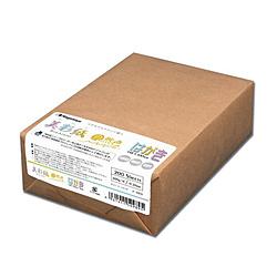自然色 209g/m2 (はがきサイズ×200枚) ナ-989 美彩紙(びさいし)シリーズ ナチュラルホワイト