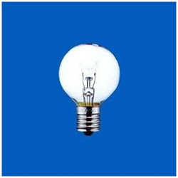 ボール電球 G40[口金E17 /10W] G40E17110V10WC クリア [E17]