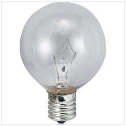 ボール電球 G50[口金E12 /40W] G50E12110V40WC クリア