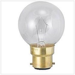 ボール電球 G50[口金B22D /60W] G50B22D110V60WC クリア [B22d]