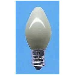 電球 ローソク電球 C7-E12-50V-5W-S ホワイト [E12 /シャンデリア電球形]