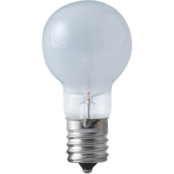 ミニクリプトン球 25Wホワイト KR110V22WE17W-TM