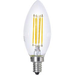 シャンデリア球形 LED電球 40W相当 LDC4LC40WE14T2
