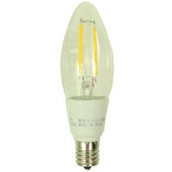 LEDフィラメント型シャンデリア電球 調光器対応タイプ LDC4LCD40E17TM [E17 /電球色]
