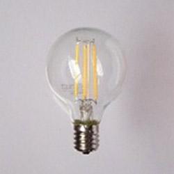 40W相当 フィラメント型LEDボール電球 LG504LC40E17TM