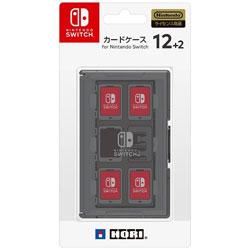 カードケース12+2 for Nintendo Switch ブラック 【Switch】 [NSW-021]