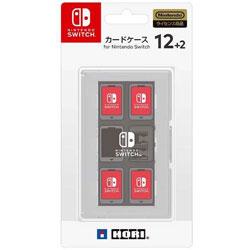 カードケース12+2 for Nintendo Switch ホワイト 【Switch】 [NSW-024]