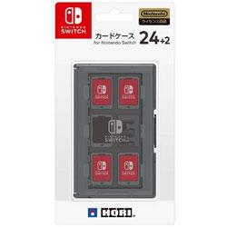 カードケース24+2 for Nintendo Switch ブラック 【Switch】 [NSW-025]