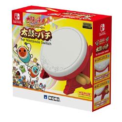 【店頭併売品】 太鼓の達人専用コントローラー太鼓とバチ for Nintendo Switch [NSW-079]