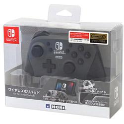 【店頭併売品】 ワイヤレスホリパッド for Nintendo Switch グレー [NSW-175] [Switch]