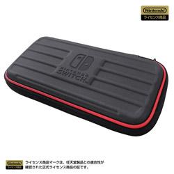 タフポーチ for Nintendo Switch Lite ブラック×レッド NS2-016 【Switch Lite】