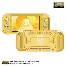 タフプロテクター for Nintendo Switch Lite クリア×イエロー NS2-054 NS2-054 クリア×イエロー