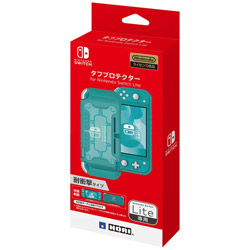 タフプロテクター for Nintendo Switch Lite クリア×ターコイズ NS2-055 【Switch Lite】