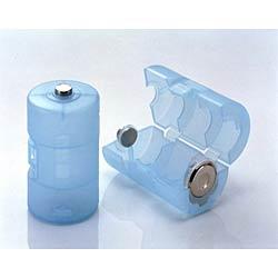 旭電機化成 電池スペーサー 単3→単1(2個入)  ADC310BL