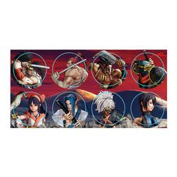 【在庫限り】 NEOGEO Arcade Stick Proボタンステッカー(Samsho) FP4X1N1901