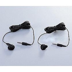 TM103BK(ブラック)<3.0mコード> テレビ/ラジオ用片耳イヤホン インナーイヤー型