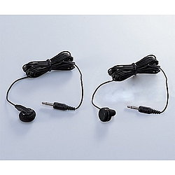 TR103BK(ブラック) ラジオ用片耳イヤホン